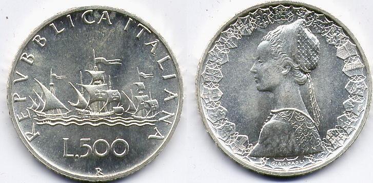 572d200784 Repubblica Italiana (dal 1946): 500 lire 1980