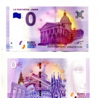 "0 Euro: ""Le Pantheon-Paris""..."